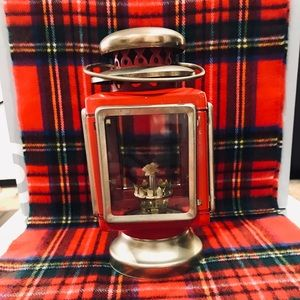 Other - Vintage Red Lantern! Holiday Inspired Christmas